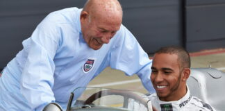 Sir Stirling Moss, Lewis Hamilton