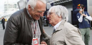 Dietrich Mateschitz, Bernie Ecclestone