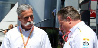Chase Carey, Zak Brown