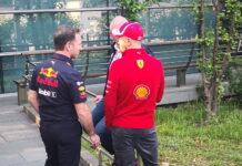 Sebastian Vettel, Christian Horner, Helmut Marko