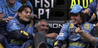 Giancarlo Fisichella, Flavio Briatore, Fernando Alonso
