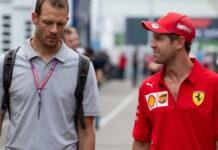 Alex Wurz, Sebastian Vettel