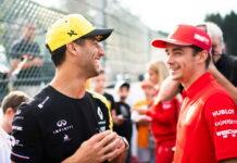 Daniel Ricciardo, Charles Leclerc