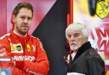 Sebastian Vettel, Bernie Ecclestone