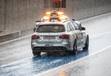 Safety Car, Medical Car, Red Bull Ring, Rain