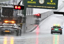 Safety Car, Red Bull Ring, Rain