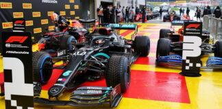 Max Verstappen, Lewis Hamilton, Carlos Sainz