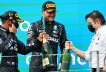 Lewis Hamilton, Valtteri Bottas, Peter Bonnington