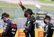 Max Verstappen, Lewis Hamilton, Valtteri Bottas