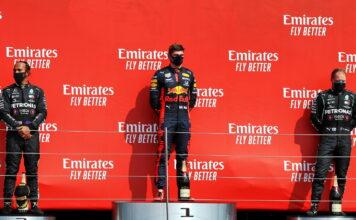 Lewis Hamilton, Max Verstappen, Valtteri Bottas