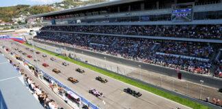 Russian Grand Prix, Sochi Autodrom, Start