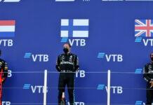 Max Verstappen, Valtteri Bottas, Lewis Hamilton