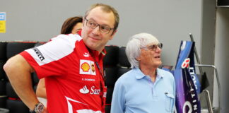 Stefano Domenicali, Bernie Ecclestone