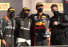 Valtteri Bottas, Lewis Hamilton, Alexander Albon