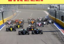 Russian Grand Prix, Soch, start
