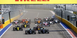 Russian Grand Prix, Soch, start