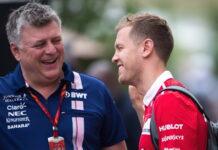 Otmar Szafnauer, Sebastian Vettel