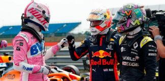 Nico Hulkenberg, Max Verstappen, Daniel Ricciardo