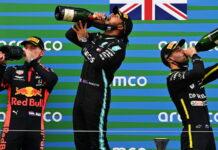 Max Verstappen, Lewis Hamilton, Daniel Ricciardo