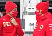 Charles Leclerc, Sebastian Vettel