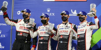 Kamui Kobayashi, Jose Maria Lopez, Mike Conway