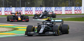Valtteri Bottas, Max Verstappen, Lewis Hamilton