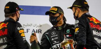 Max Verstappen, Lewis Hamilton, Alexander Albon