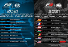 Formula 2, Formula 3, Calendar
