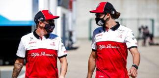 Kimi Raikkonen, Antonio Giovinazzi