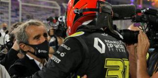 Alain Prost, Esteban Ocon