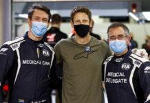 Alan van der Merwe, Romain Grosjean, Dr. Ian Roberts