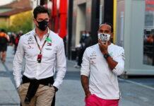 Toto Wolff, Lewis Hamilton