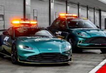 Aston Martin Safety Car