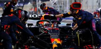 Max Verstappen, pit stop