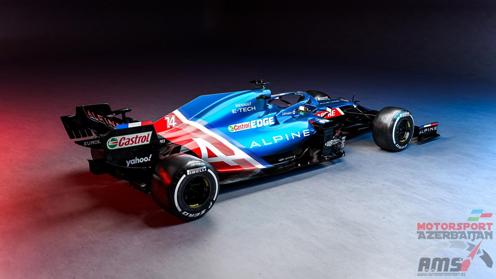 Alpine F1 Team Launch