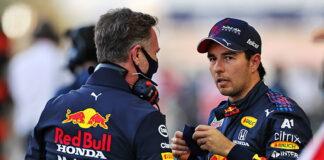 Christian Horner, Sergio Perez