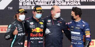 Lewis Hamilton, Max Verstappen, Lando Norris