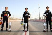Liam Lawson, Guanyu Zhou, Oscar Piastri