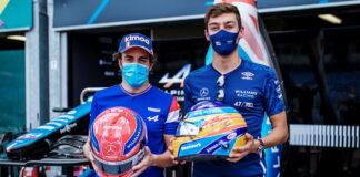 Fernando Alonso, George Russell