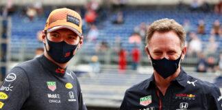 Max Verstappen, Christian Horner