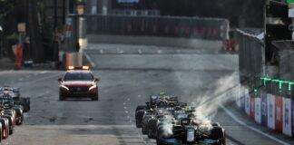 Restart, Baku City Circuit