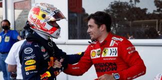 Max Verstappen, Charles Leclerc