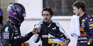 Lewis Hamilton, Fernando Alonso, Max Verstappen