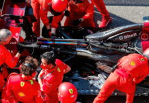 Ferrari mechanics, engine, power unit