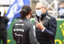 Lewis Hamilton, Stefano Domenicali